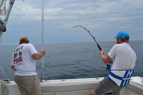 Shark fishing in maine maine ocean adventures for Deep sea fishing maine