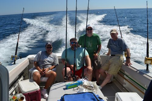 Offshore fishing charter maine ocean adventures for Maine deep sea fishing charters