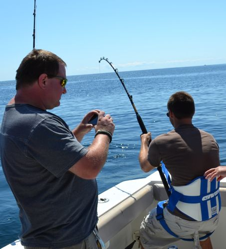 Bachelor party goes deep sea fishing in maine maine for Maine deep sea fishing charters