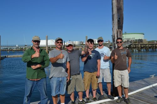 Bachelor party goes deep sea fishing in maine maine for Deep sea fishing trips near me